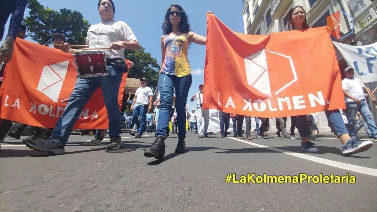 1 de Mayo, marcha por los derechos de los trabajadores