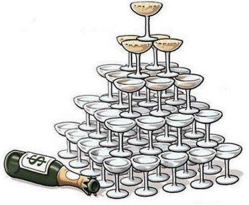 Moreno y su modelo económico del goteo