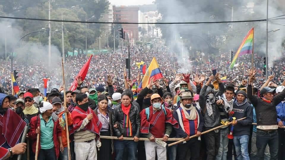 Ecuador se rebela frente a las medidas del FMI