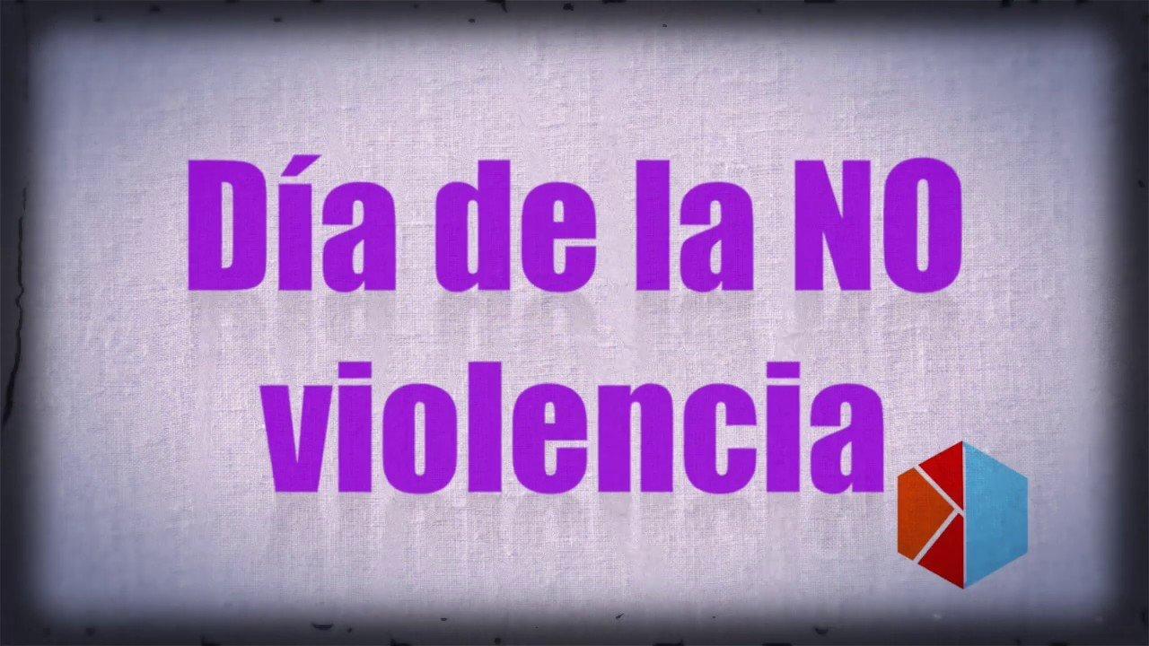 #25N DÍA DE LA NO VIOLENCIA CONTRA LAS MUJERES