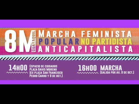 Marcha Feminista Popular NO PARTIDISTA ANTICAPITALISTA