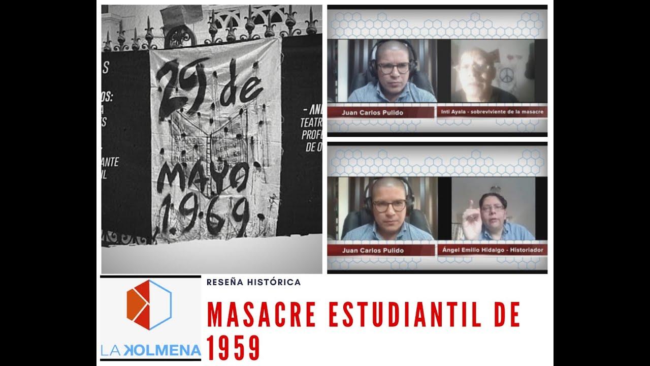 RESEÑA DE LA MASACRE ESTUDIANTIL EN LA CASONA UNIVERSITARIA (1969)