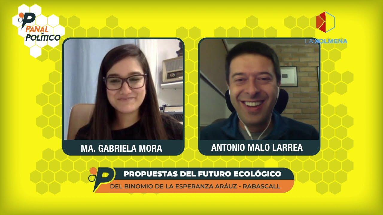 Panal Político – Futuro ecológico en el gobierno de Andrés Arauz