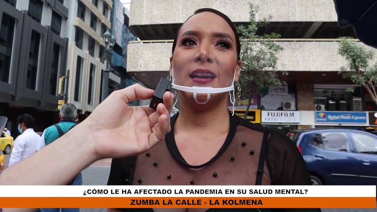 #ZumbaLaCalle ¿Cómo ha afectado la pandemia en su salud mental?