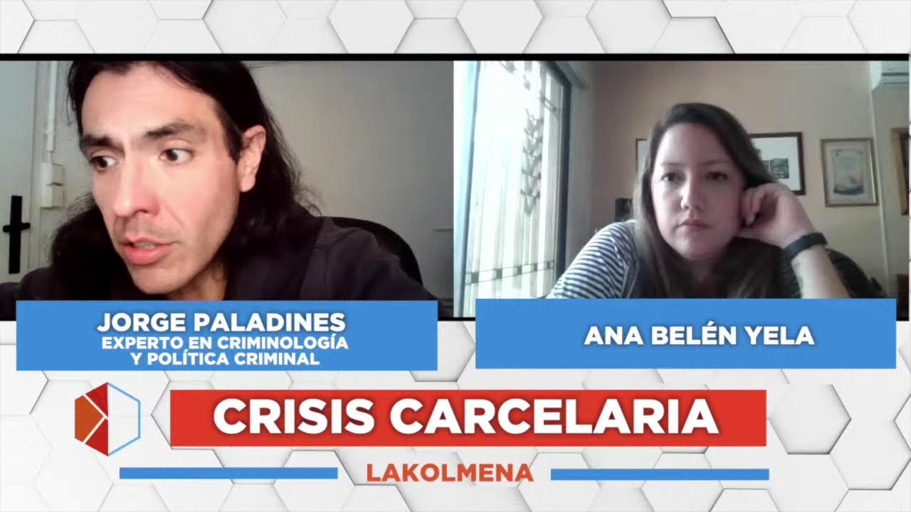 Crisis Carcelaria – Jorge Paladines